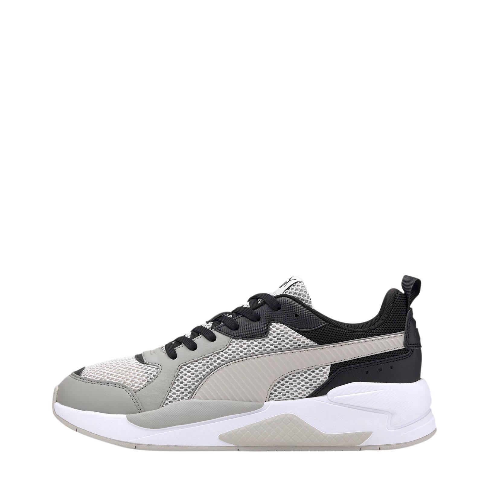 Puma X-Ray Glitch sneakers grijs/zwart   wehkamp