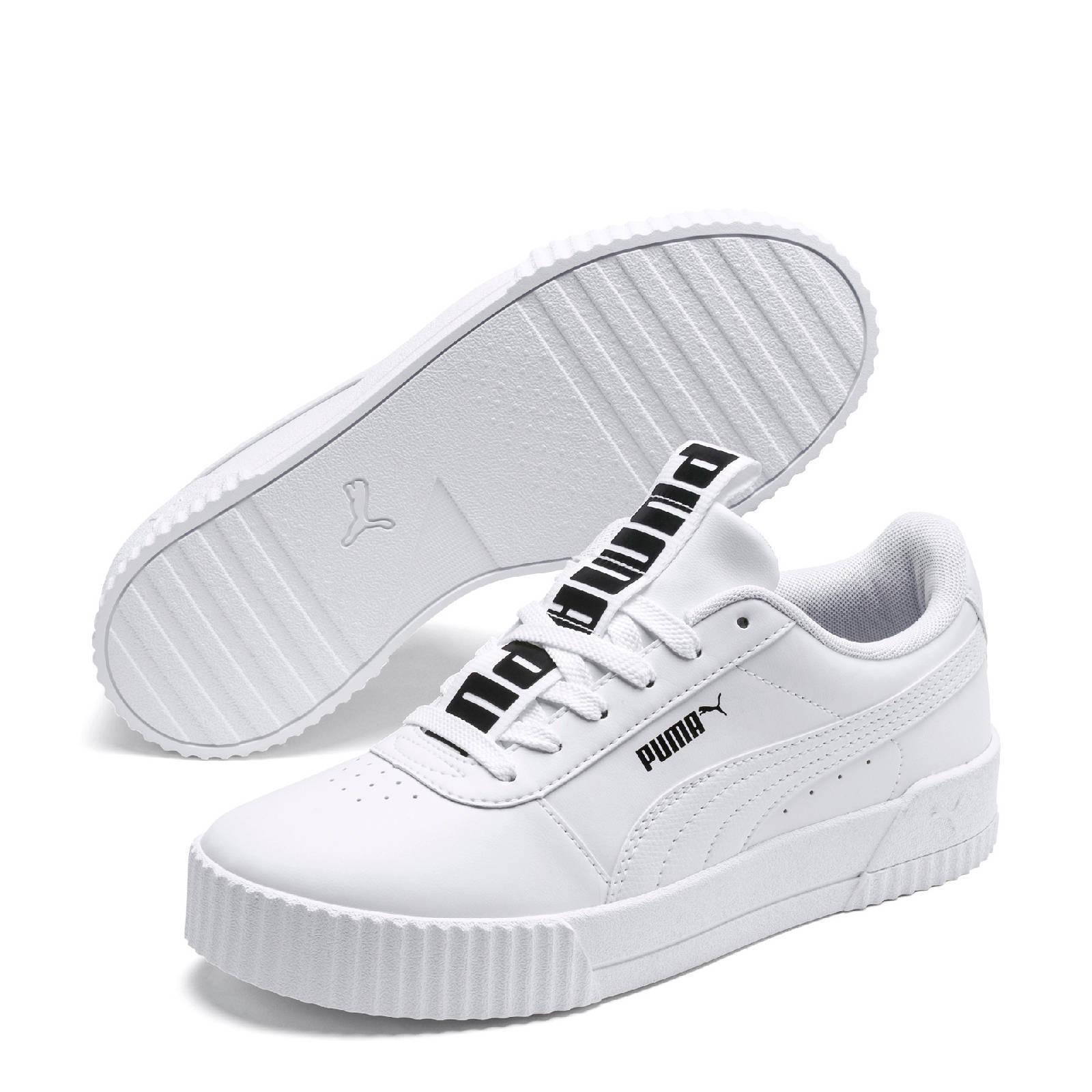 Puma Carina Bold sneakers wit | wehkamp