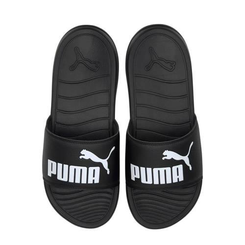 Puma Popcat 20 badslippers zwart/wit