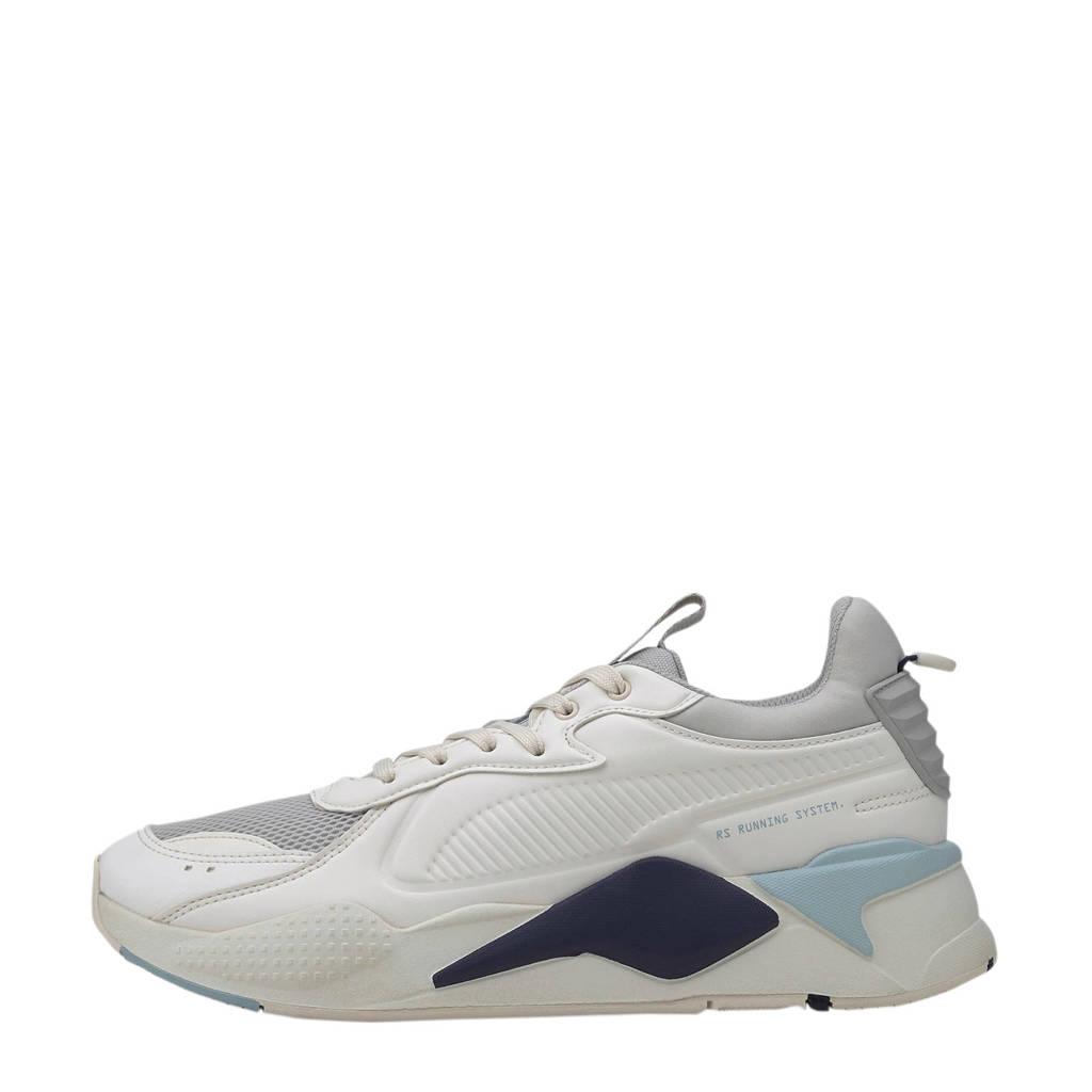 Puma RS-X Master  sneakers wit/lichtblauw, Wit/lichtblauw