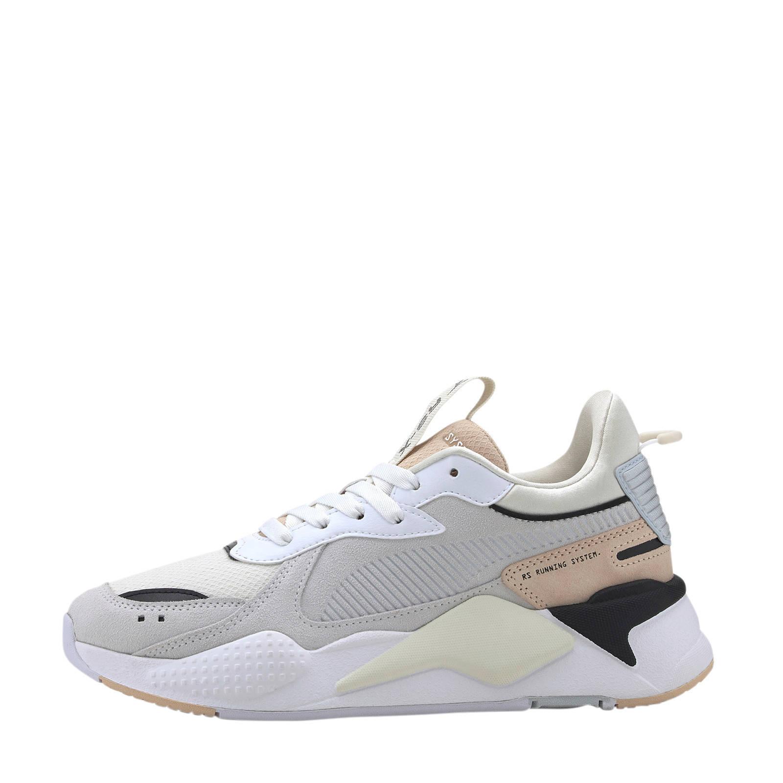 Puma RS-X Reinvent suède sneakers wit/beige | wehkamp