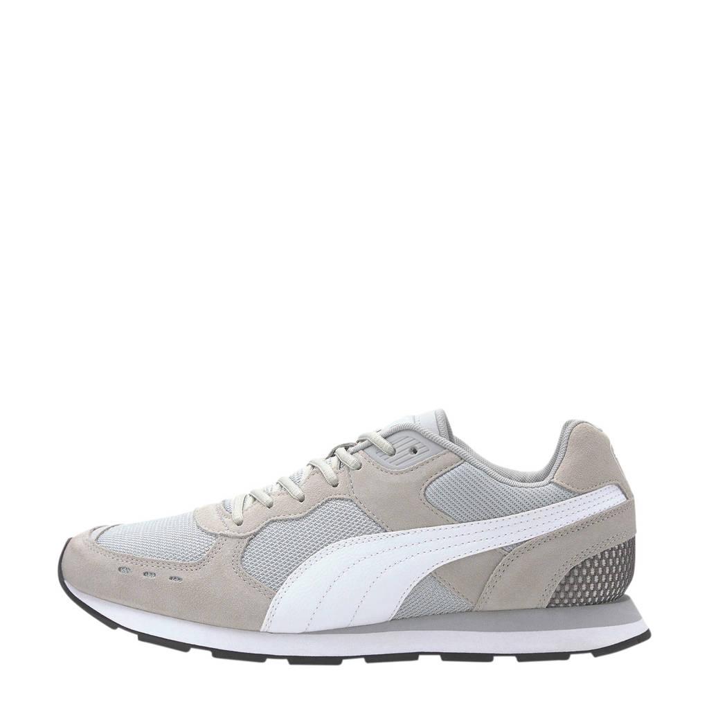 Puma Vista  suède sneakers lichtgrijs, Lichtgrijs
