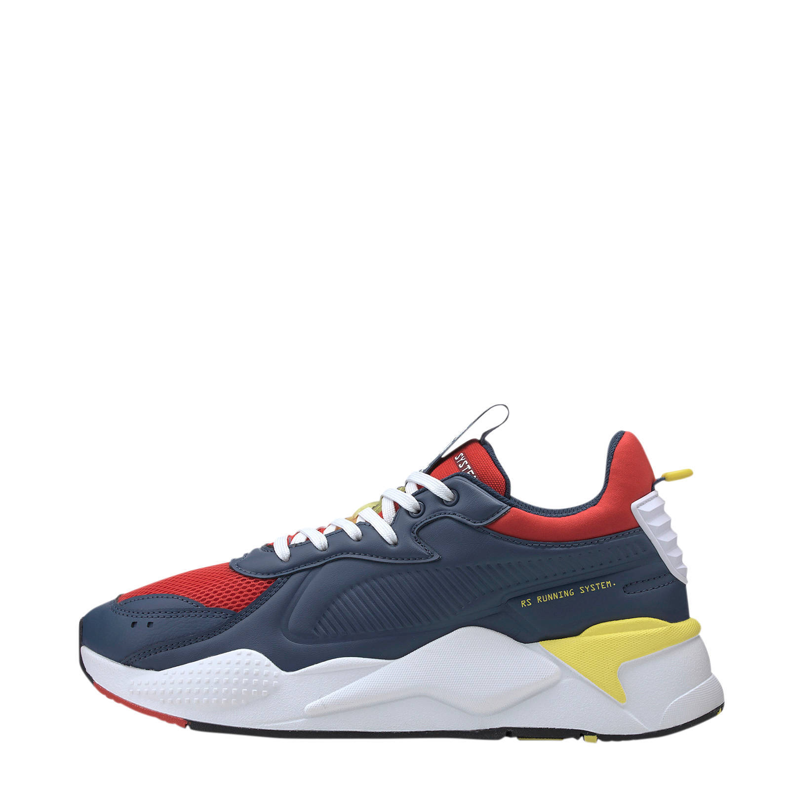 RS-X Master sneakers blauw/rood