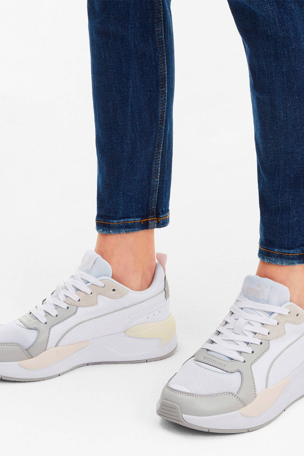 Puma X-Ray Game sneakers wit/lichtgrijs | wehkamp