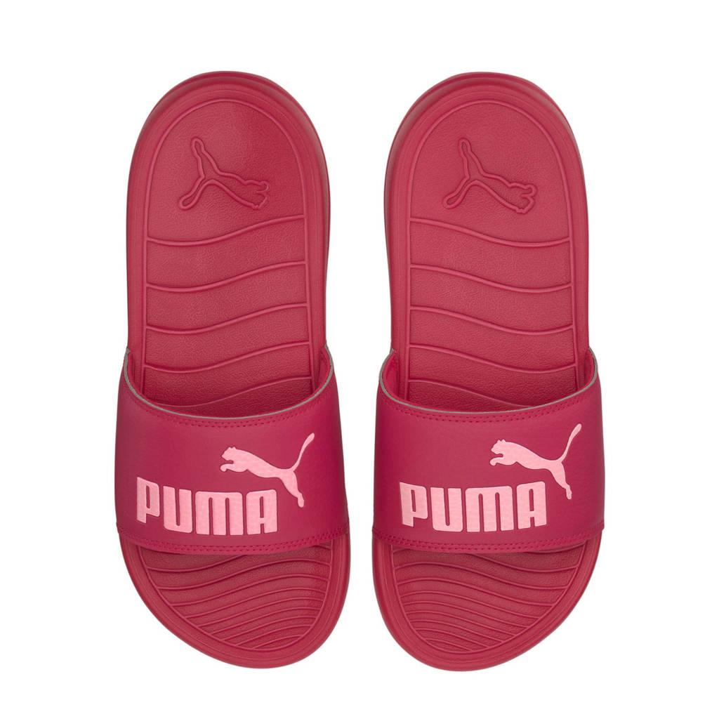 Puma Popcat 20  badslippers fuchsia/roze, Fuchsia/roze