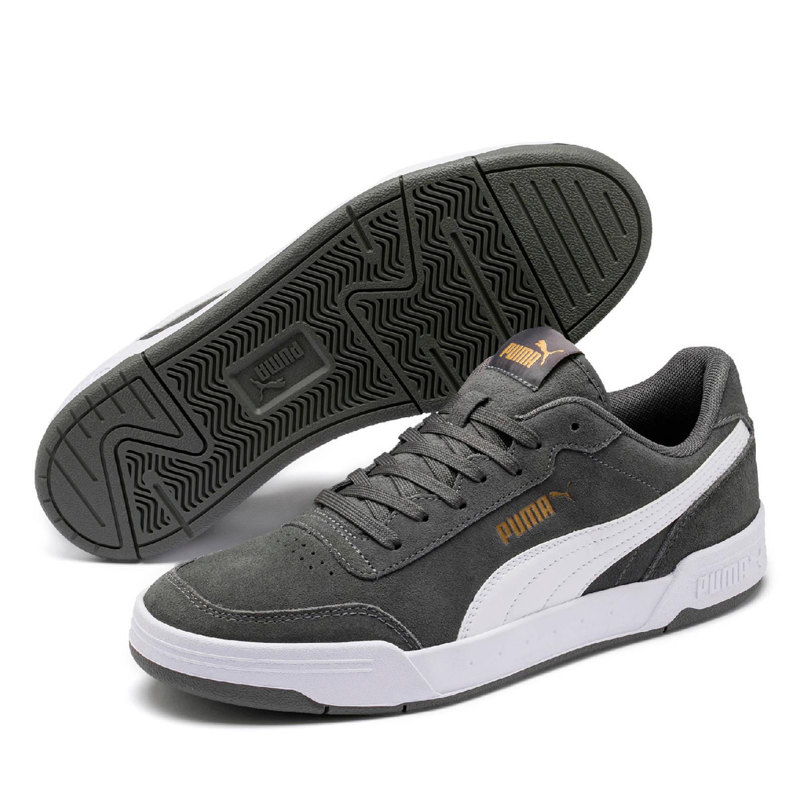 Puma Caracal SD suède sneakers grijs | wehkamp