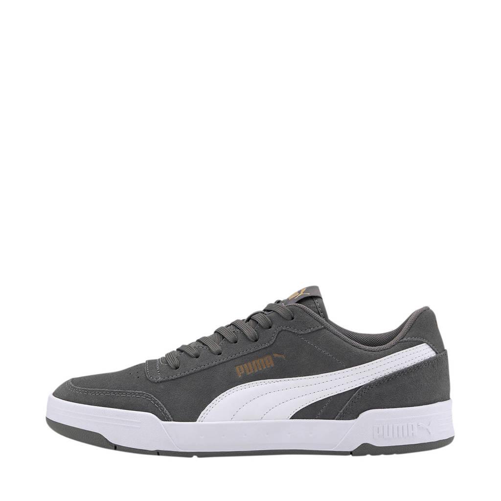 Puma Caracal SD  suède sneakers grijs, Grijs/wit