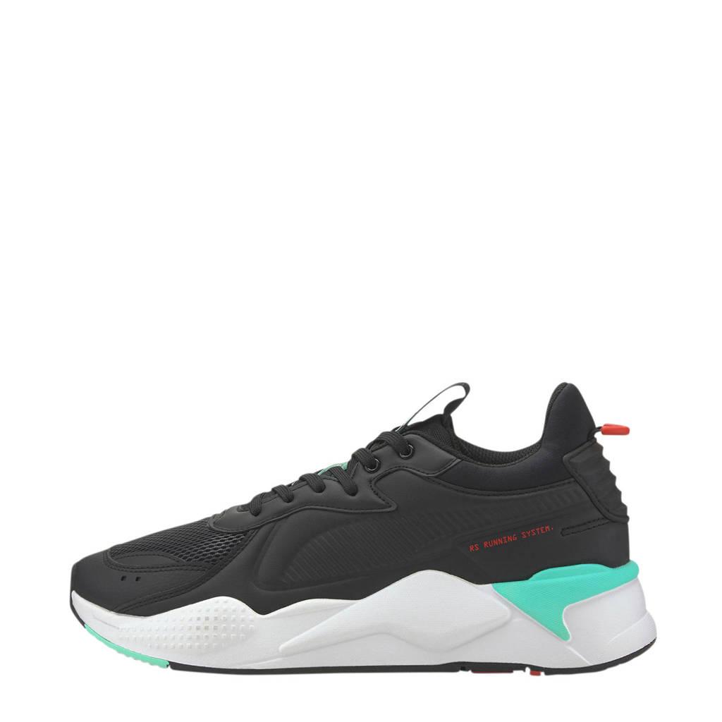 Puma RS-X Master  sneakers zwart/mintgroen, Zwart/mintgroen
