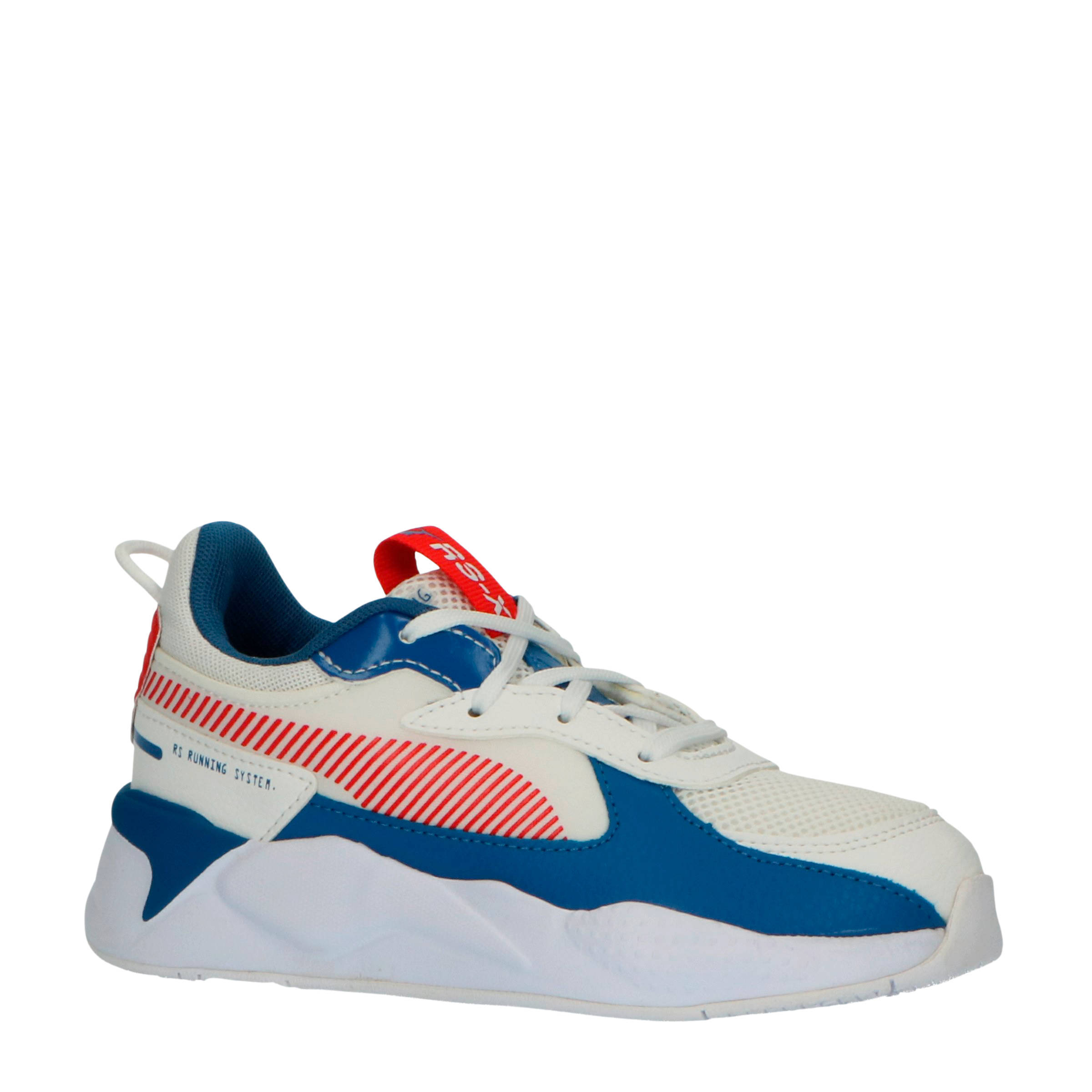 RS-X Joy PS sneakers wit/rood/blauw