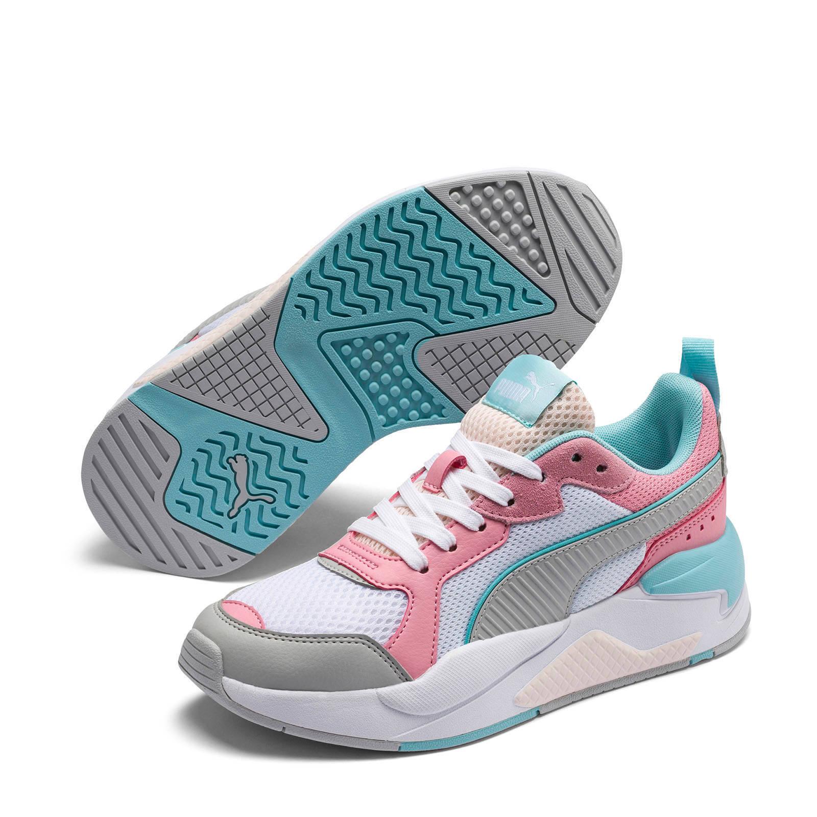 Puma X Ray Jr sneakers witrozegrijs Roze grijs, Grijs en