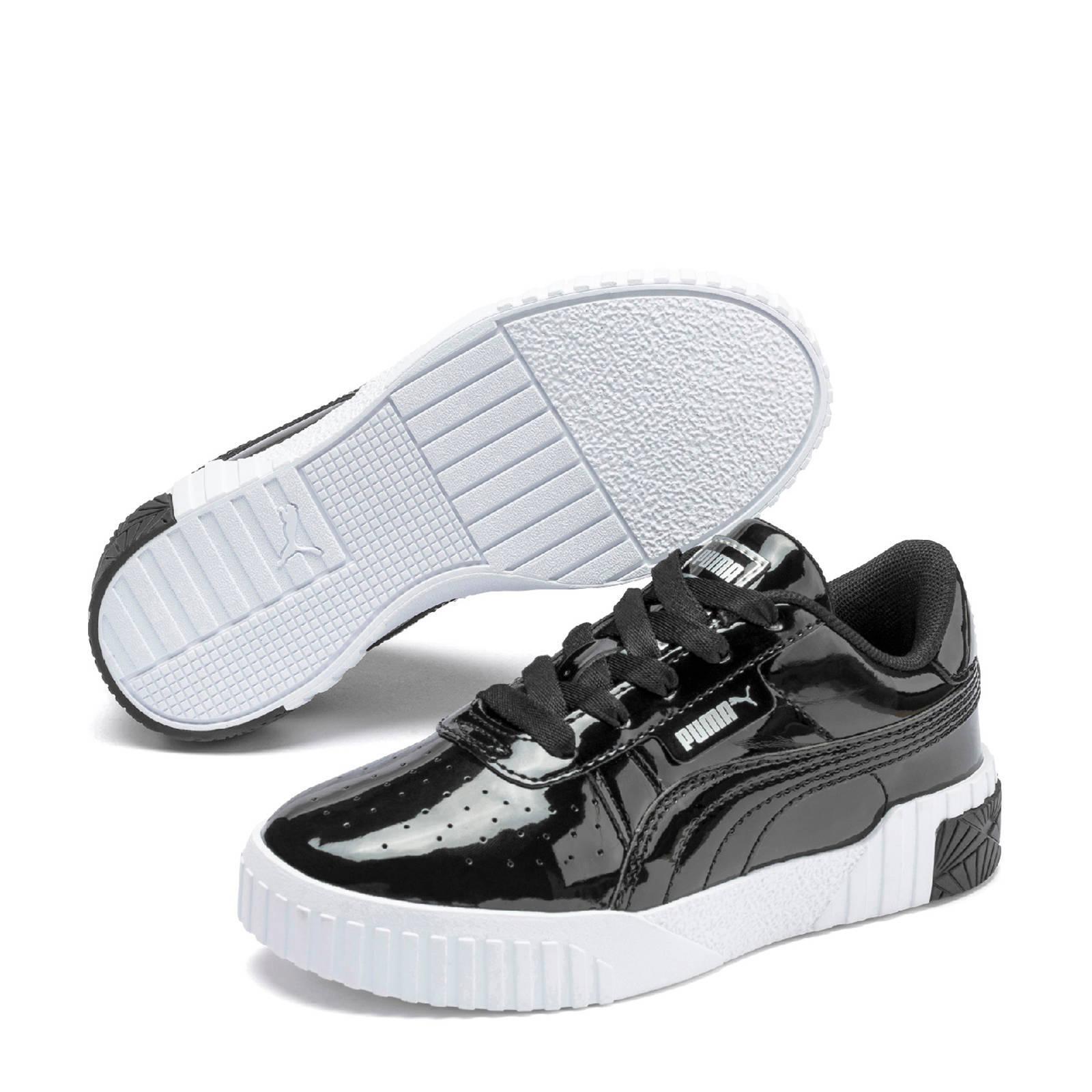 Puma Cali Patent PS sneakers lak zwart   wehkamp