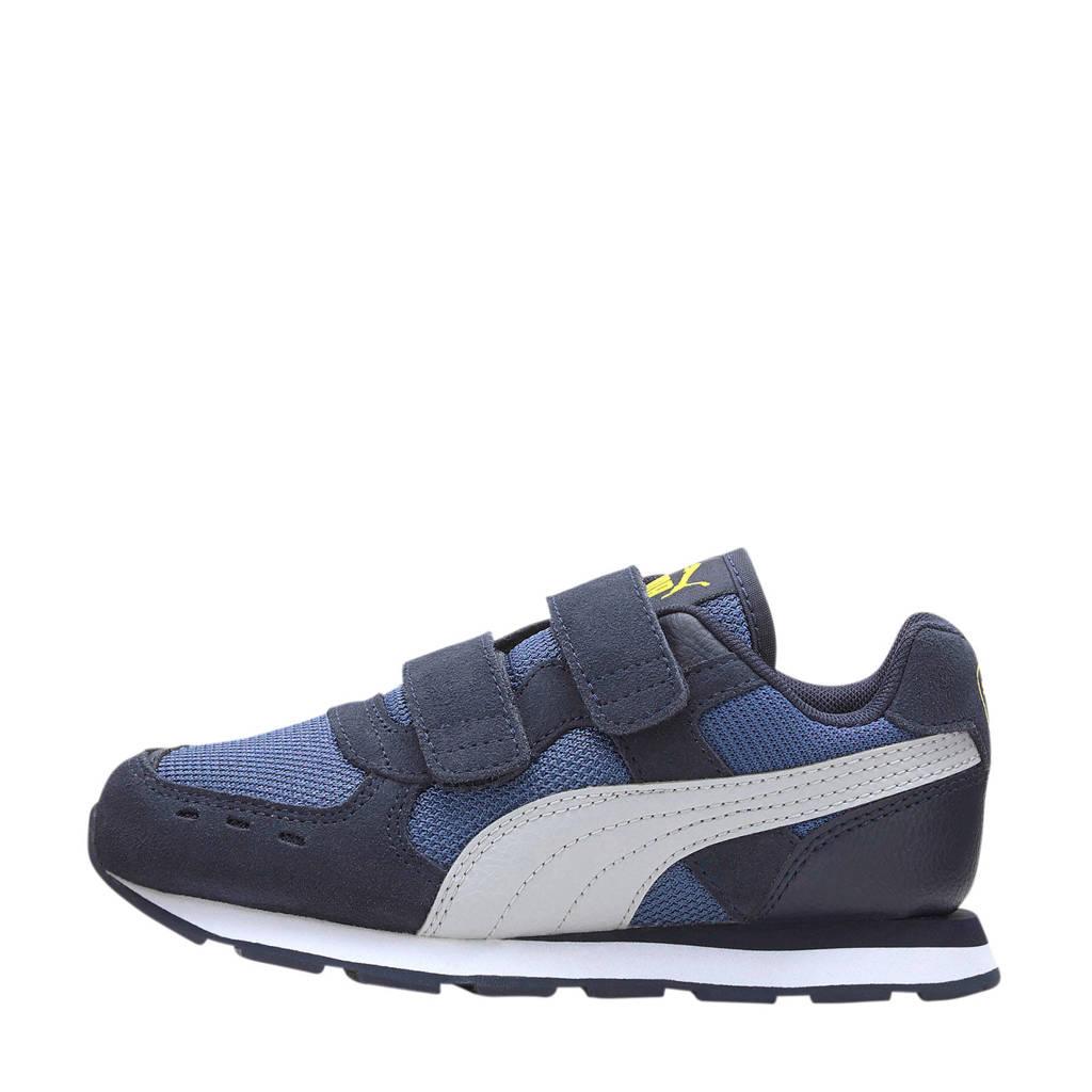 Puma Vista V PS sneakers blauw/wit, Blauw/wit