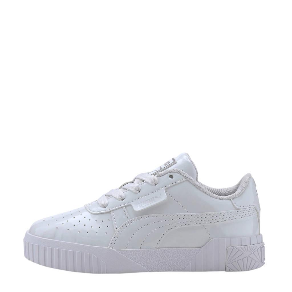 Puma Cali Patent PS sneakers lak wit, Wit