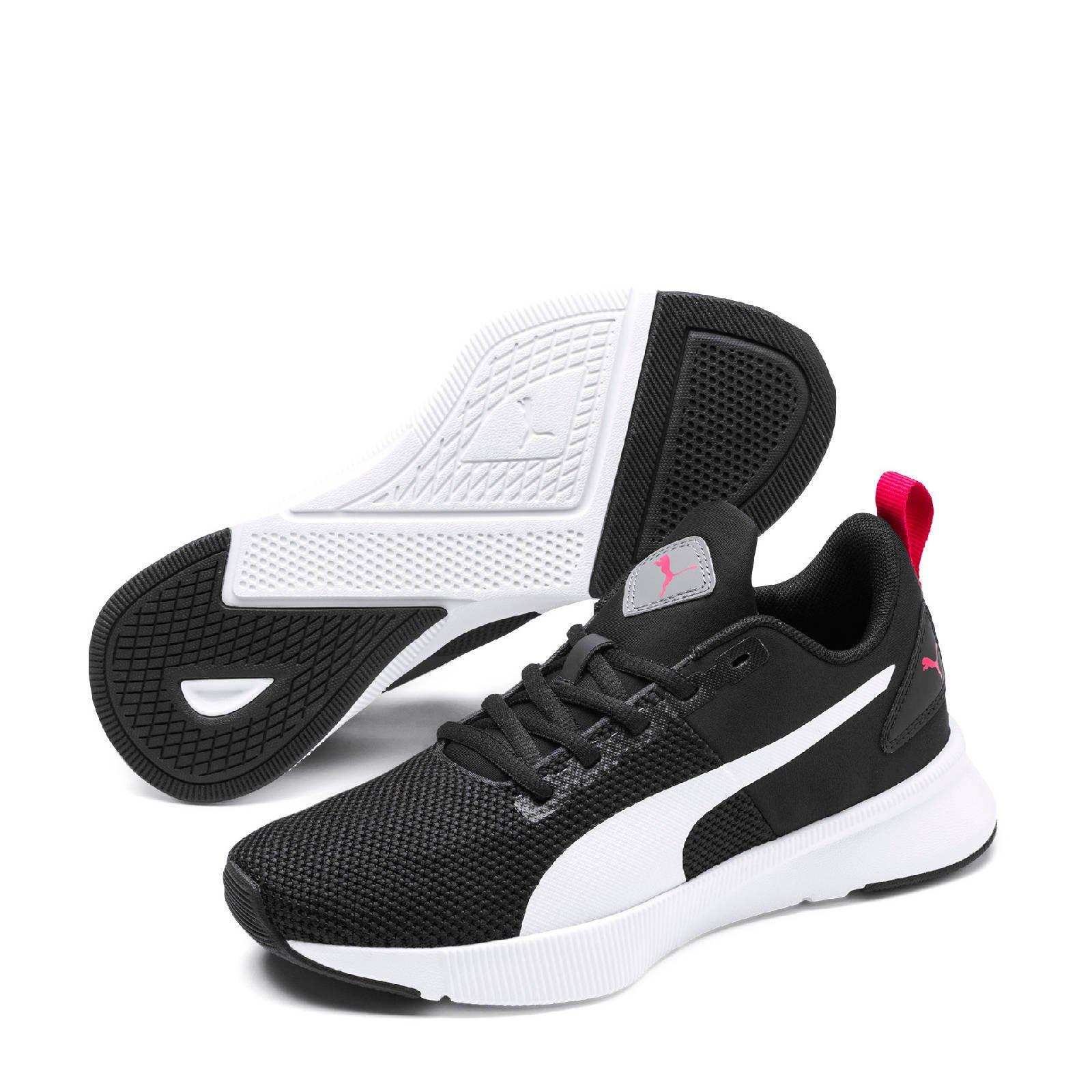 Puma Flyer Runner Jr sneakers zwart/wit | wehkamp