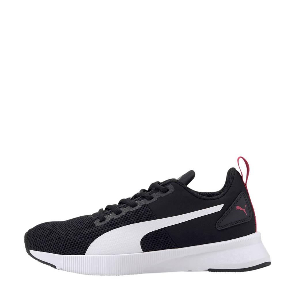 Puma Flyer Runner Jr sneakers zwart/wit, Zwart/wit/grijs