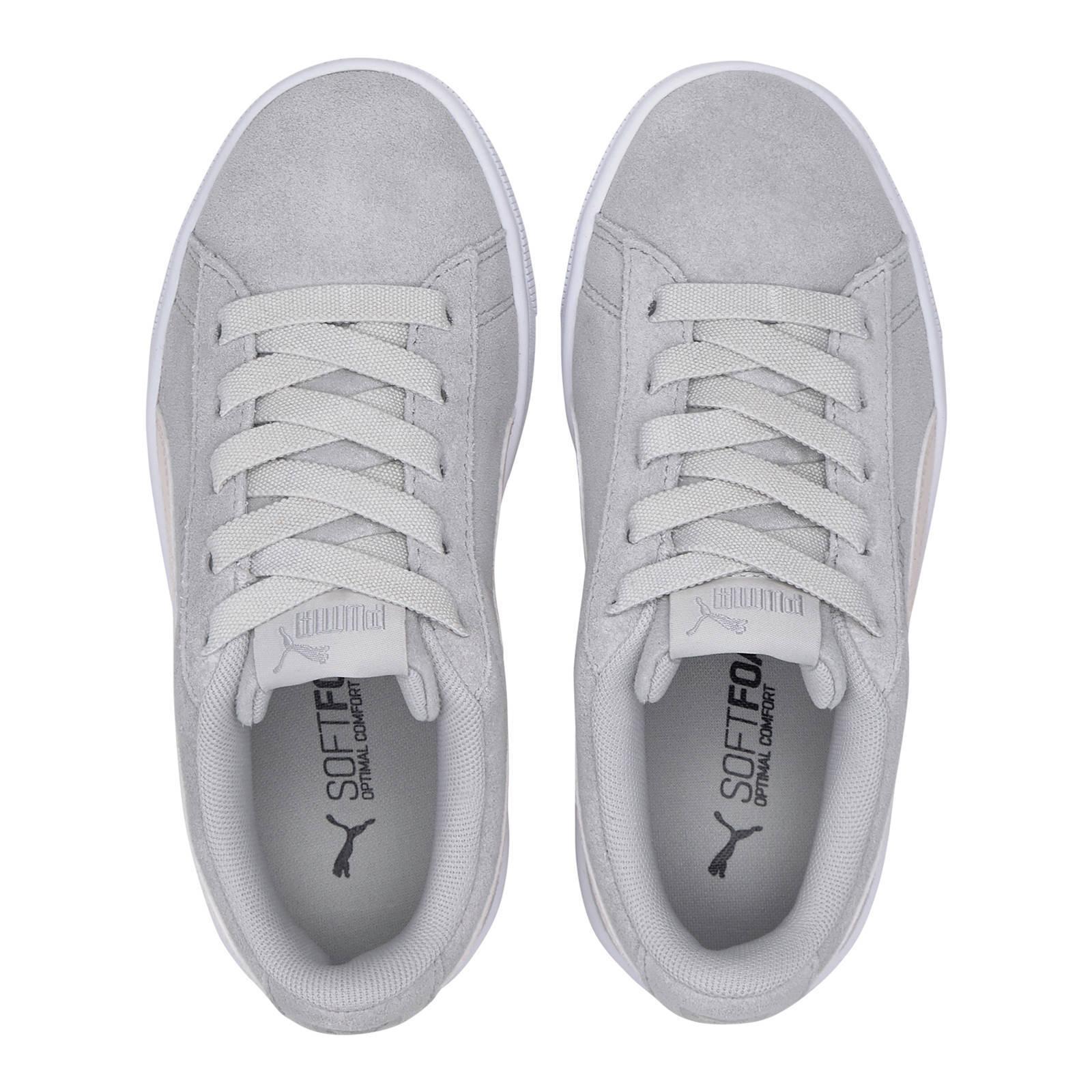 Vikky V2 Vikky V2 sneakers suede grijslichtroze