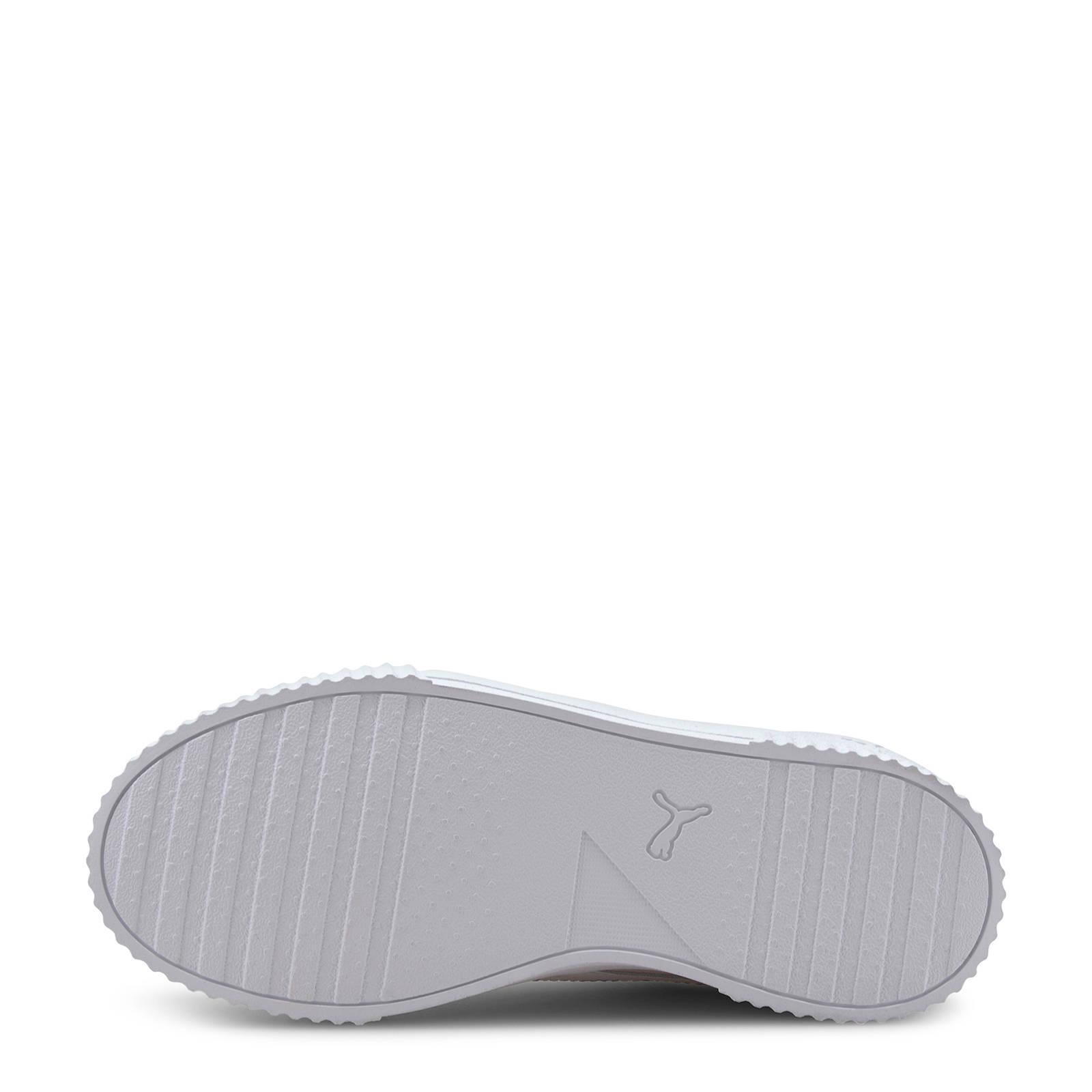 Puma Carina L Jr sneakers zwartrozezilver Zwart, Zilver