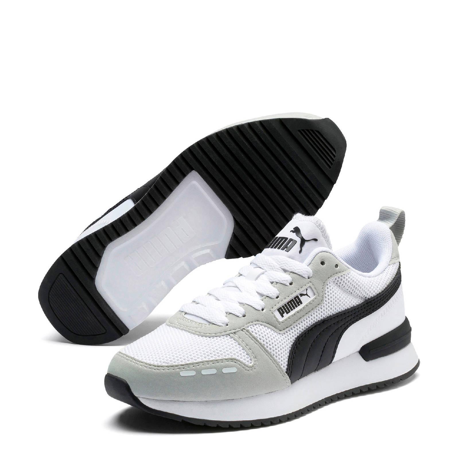 Puma R78 Runner sneakers witgrijszwart | wehkamp