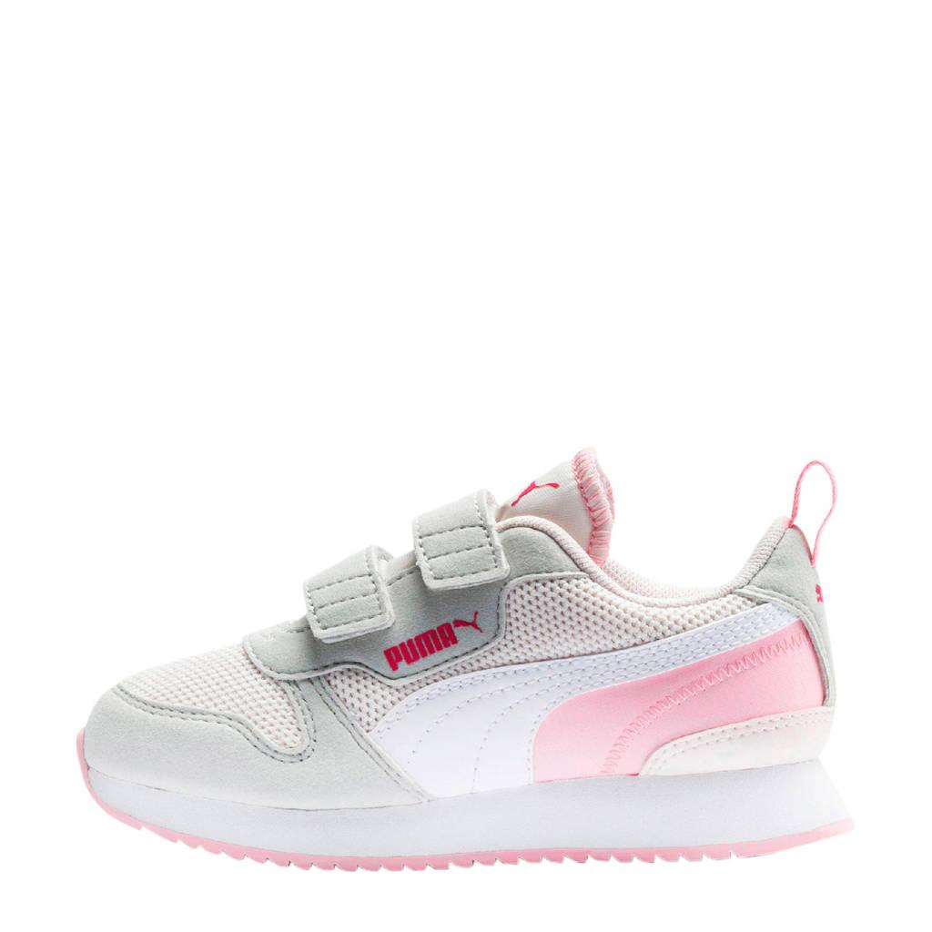 Puma R78 V PS sneakers roze/grijs/wit, Roze/grijs/wit