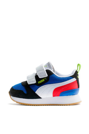 R78 V Inf sneakers blauw/zwart/wit/rood
