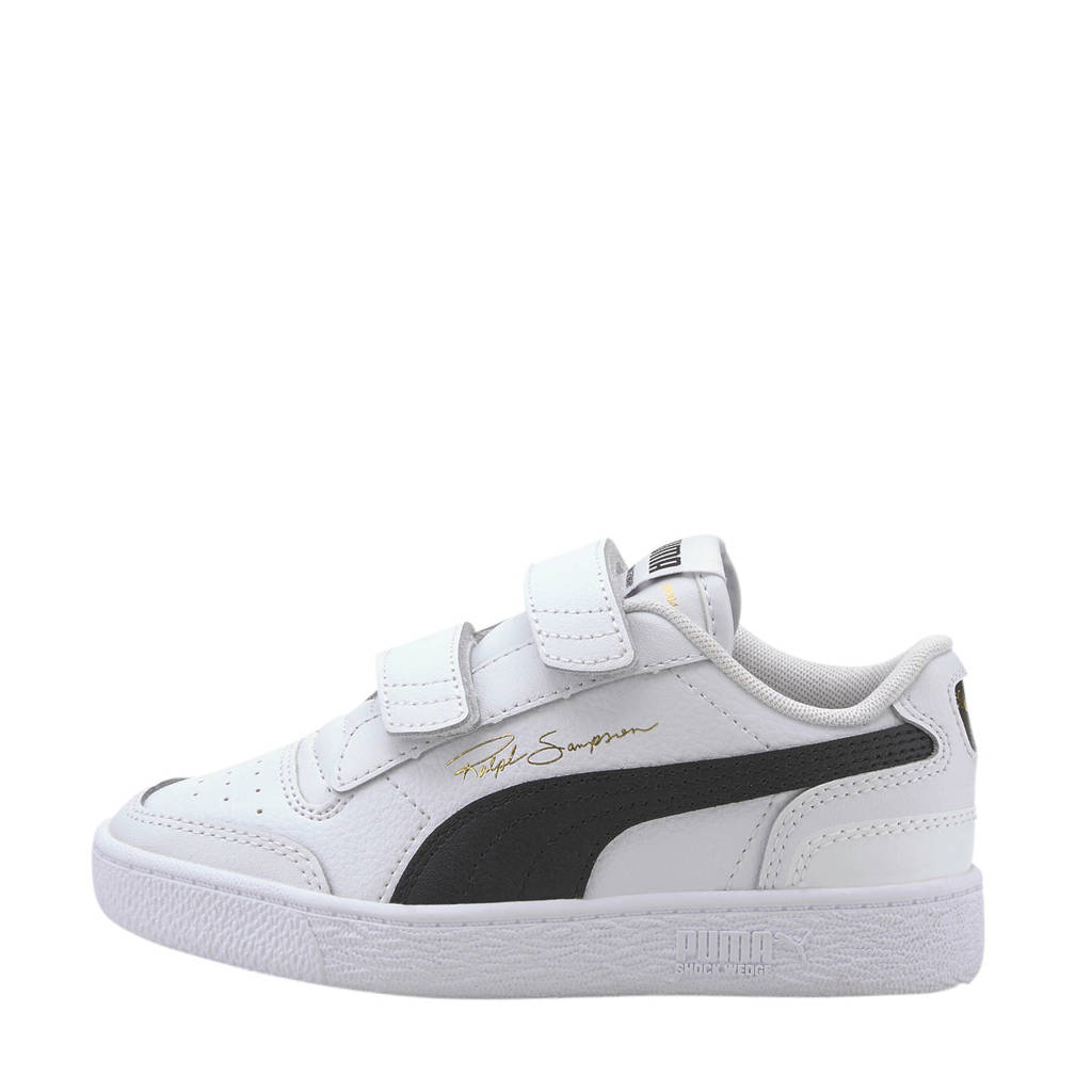 Puma Ralph Sampson  Lo V PS sneakers wit/zwart, Wit/zwart