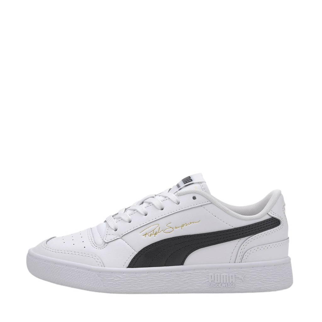 Puma Ralph Sampson  Lo Jr sneakers wit/zwart, Wit/zwart