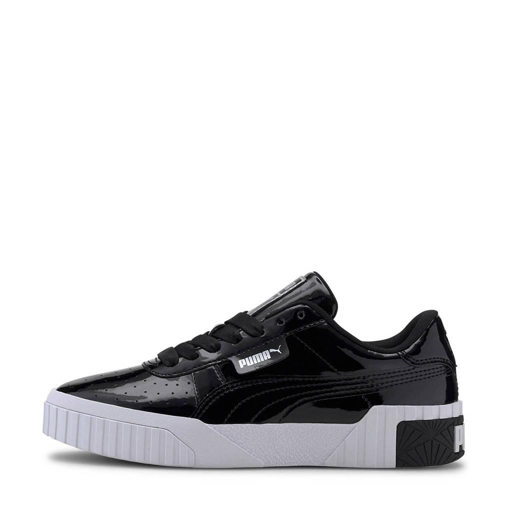 Puma Cali Patent sneakers zwart/wit, Zwart/wit