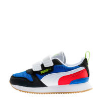 Puma R78 V PS sneakers blauw/zwart/wit/rood, Blauw/zwart/wit/rood