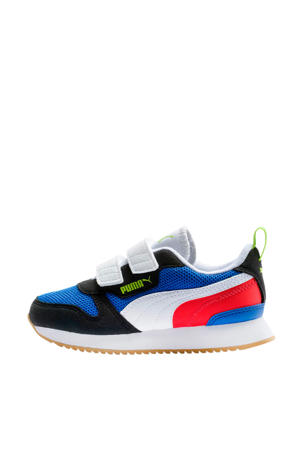 R78 V PS sneakers blauw/zwart/wit/rood