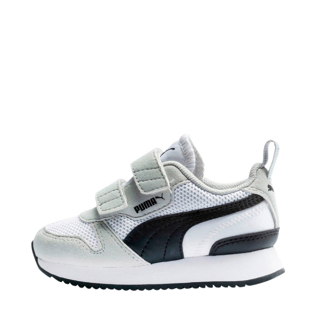 Puma R78 V Inf sneakers wit/grijs/zwart, Wit/grijs/zwart
