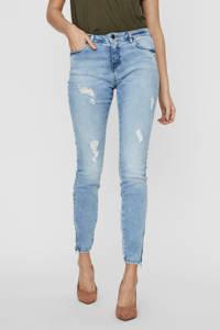NOISY MAY low waist skinny jeans NMKIMMY  blauw, Blauw