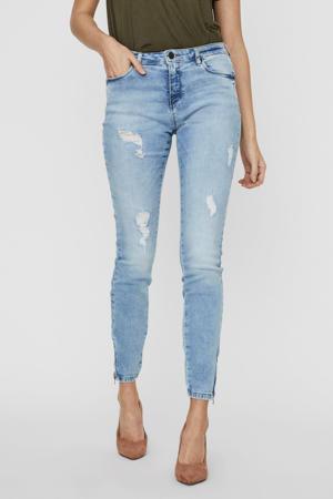 low waist skinny jeans NMKIMMY  blauw