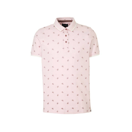 Cars regular fit polo lichtroze