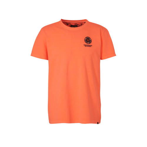 Cars T-shirt met logo oranje