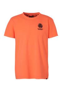 Cars T-shirt met logo oranje, Oranje