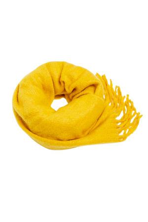 sjaal geel