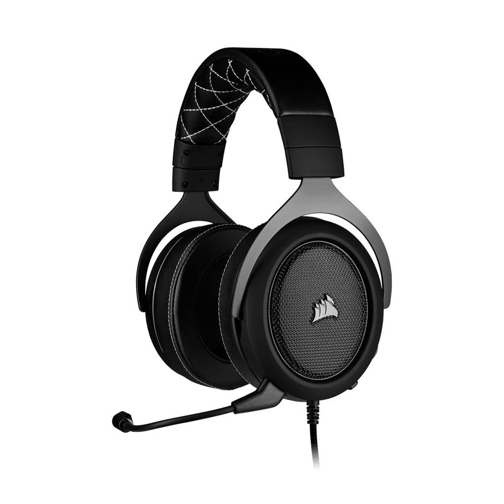 Corsair HS60 PRO - CARBON gaming headset, Zwart, Carbon