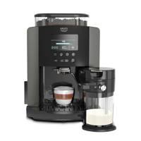 Krups EA819E espressomachine, Zwart, Titanium