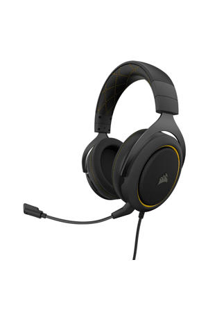 HS60 Pro Surround gaming headset PC zwart/geel