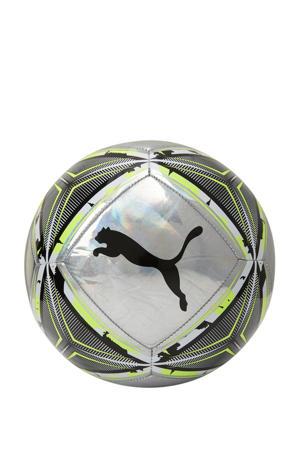 voetbal zilver/limegroen