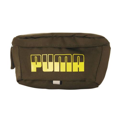 Puma heuptas kaki/limegroen