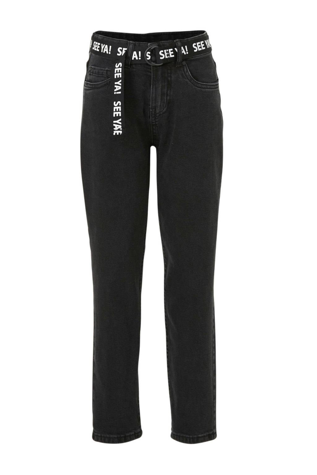 C&A skinny jeans zwart, Zwart