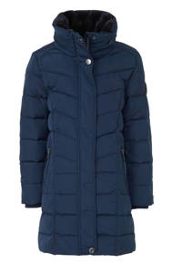 C&A Here & There winterjas donkerblauw, Donkerblauw