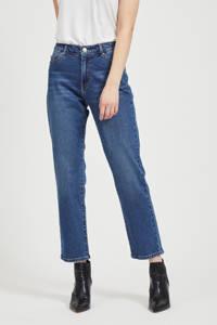 VILA slim fit jeans blauw, Blauw