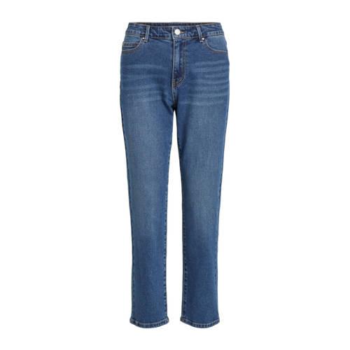 VILA slim fit jeans blauw