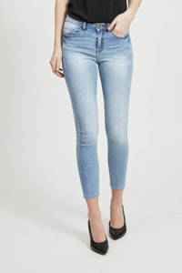 VILA skinny jeans VIEKKO lichtblauw, Lichtblauw