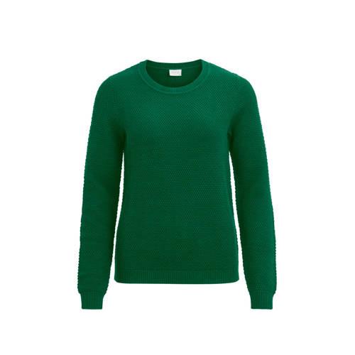 VILA gebreide trui groen