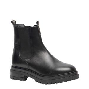 TwoDay   leren chelsea boots zwart
