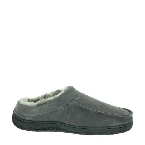 Alpacas su??de pantoffels grijs
