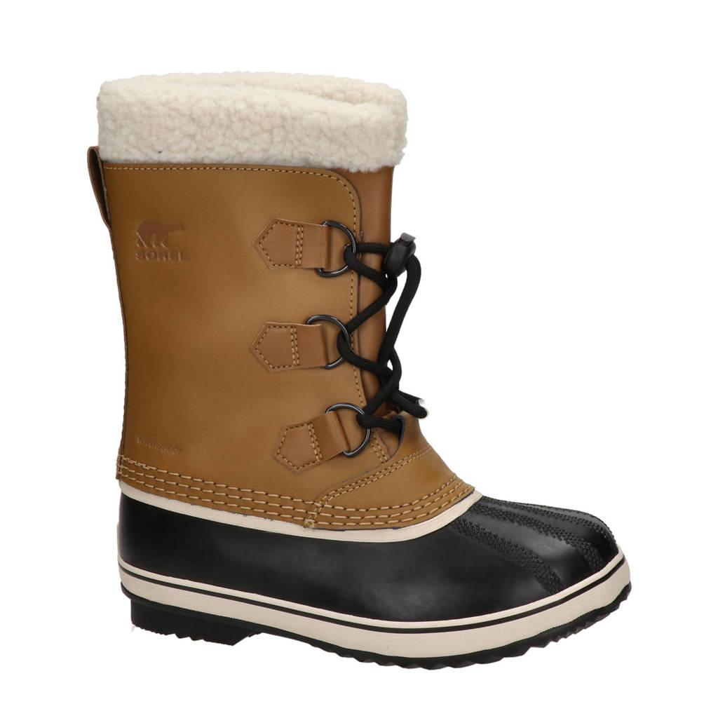 Sorel Yootpac  snowboots bruin/zwart kids, Bruin/zwart